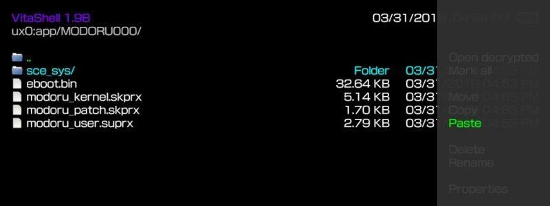 Downgrade Firmware on a Hacked PS Vita | PS Vita Mod