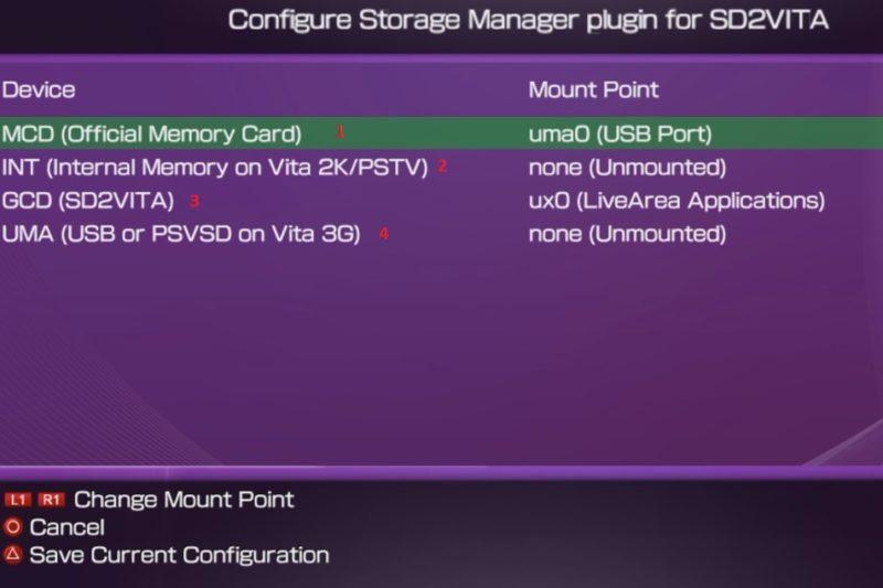 Configure Storage Manager
